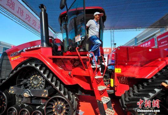 新疆农业机械博览会开幕